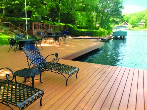 On deck sustainable choices for decks and railings for Sustainable decking