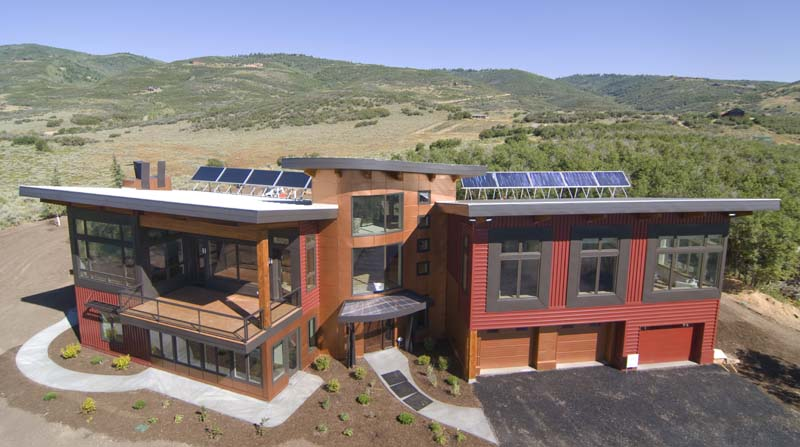 Sungazing House Utah Exterior