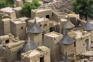adobe homes in Mali
