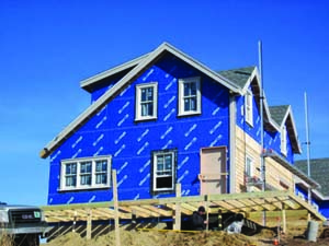 Henry blueskin vp for House wrap prices