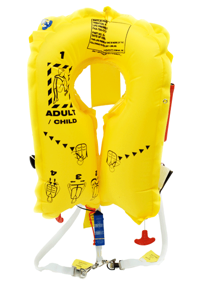 Switlik Av 35 Airline Life Vests Double Cell Vests