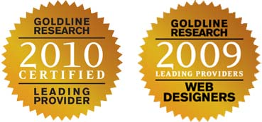 Ranks as Leading Provider of Web Design by Goldline Research