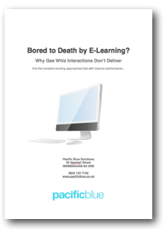 boring e-learning