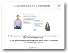 E-learning Sample