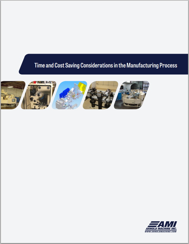 Time and Cost Savings in Manufacturing