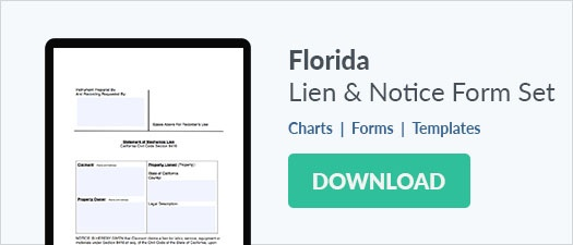 Free Florida Lien Forms: Mechanics Lien, Bond Claim and Notice To ...