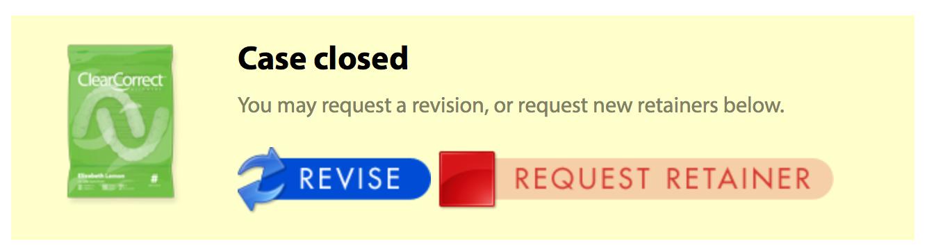 revision case closed