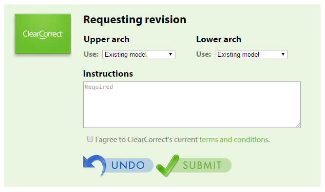 revision interface