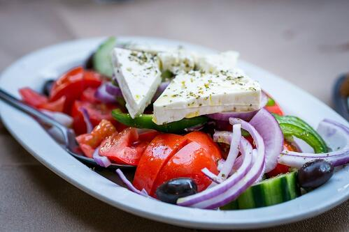 #1 Greek diet - flavorful and healthy