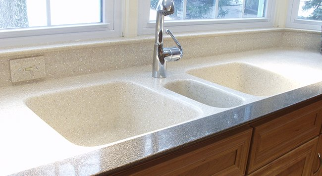 Meridian solid surface Solid surface counters