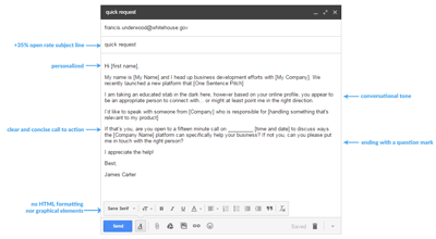 5 cold email templates that will generate warm leads for for Email cold call template