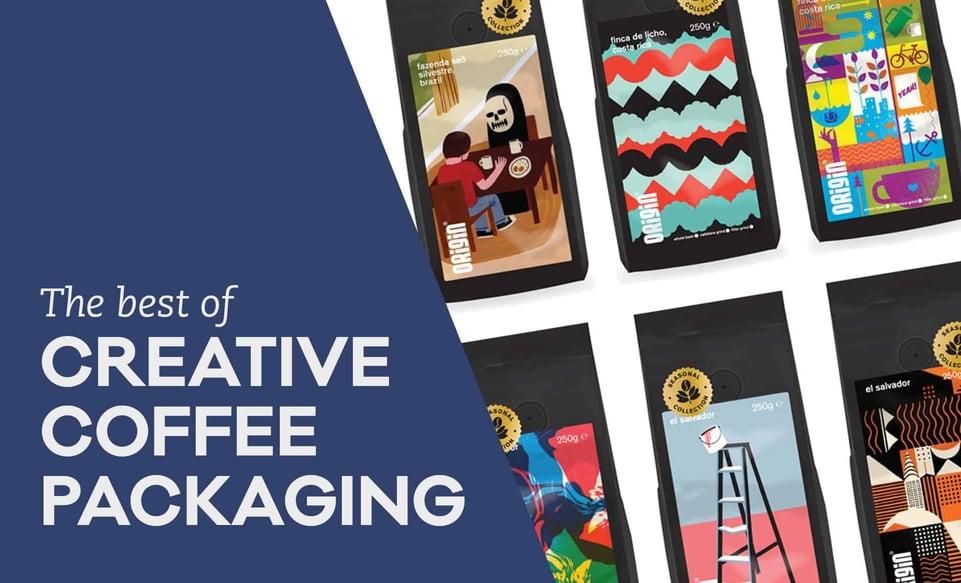 creative coffee packaging