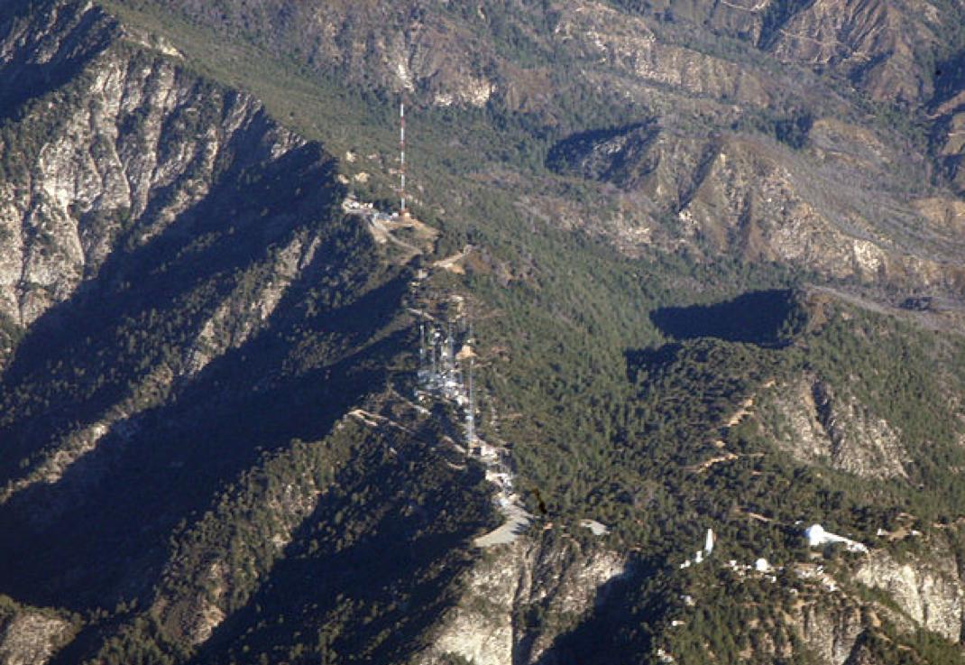 Mt. Wilson aerial