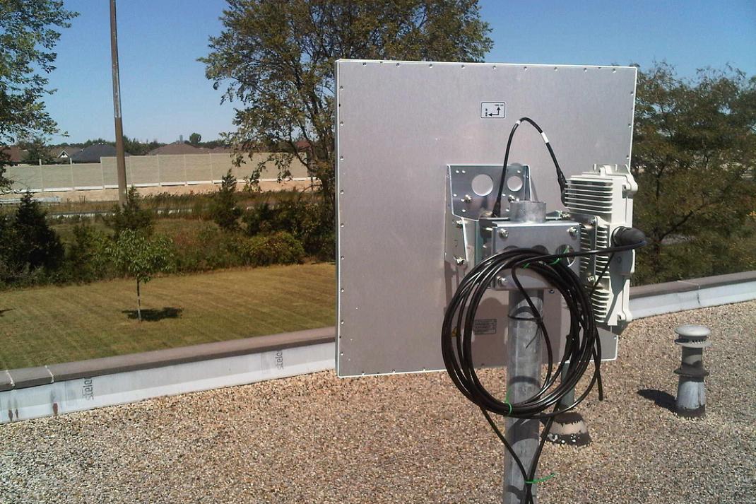 fixed wireless TVBD antenna