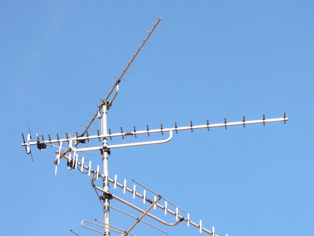 UHF yagi antennas
