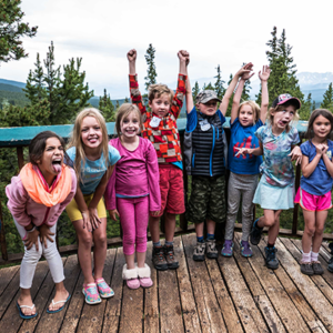 Colorado Hut Trip For Kids at Summer Camp