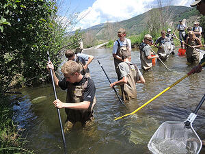 High School Water Conservation Internship Vail Colorado