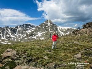 Hiking Notch Mountain View of Holy Cross from Notch Mountain