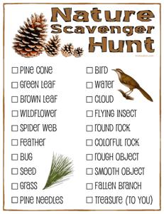 Nature-Scavenger-Hunt-Checklist-Vail-Colorado