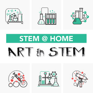At Home STEM Art Projects