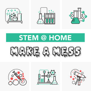 Messy at home STEM projects for kids