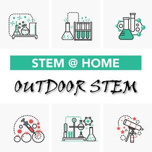 At home outdoor STEM activities