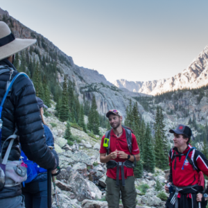 hiking announcement walking mountains schedule