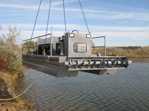 hydraulic dredging with crisafullis sd110