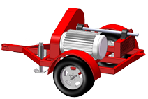 Electric-PTO Power Units-Trailer Mounted