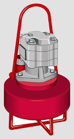 Hydraulic pumps flows to 3 800 gpm tdhs to 40 39 srs for Submersible hydraulic pump motor