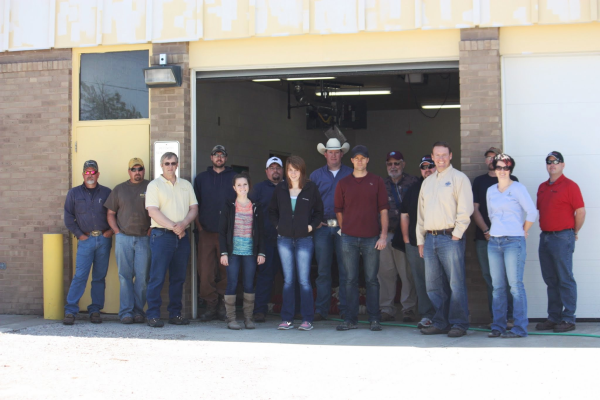 Graduating class WWTP operators training, Harlem, MT