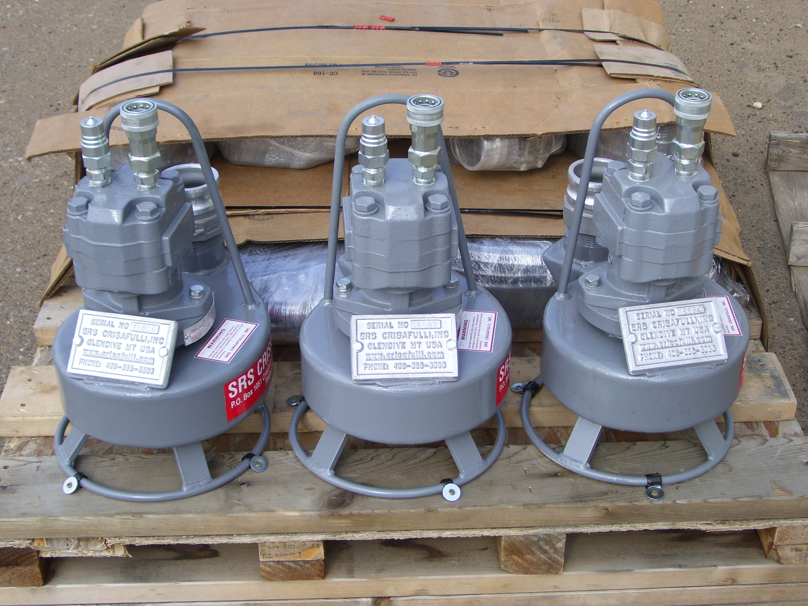 Crisafulli Submersible Hydraulic Pumps