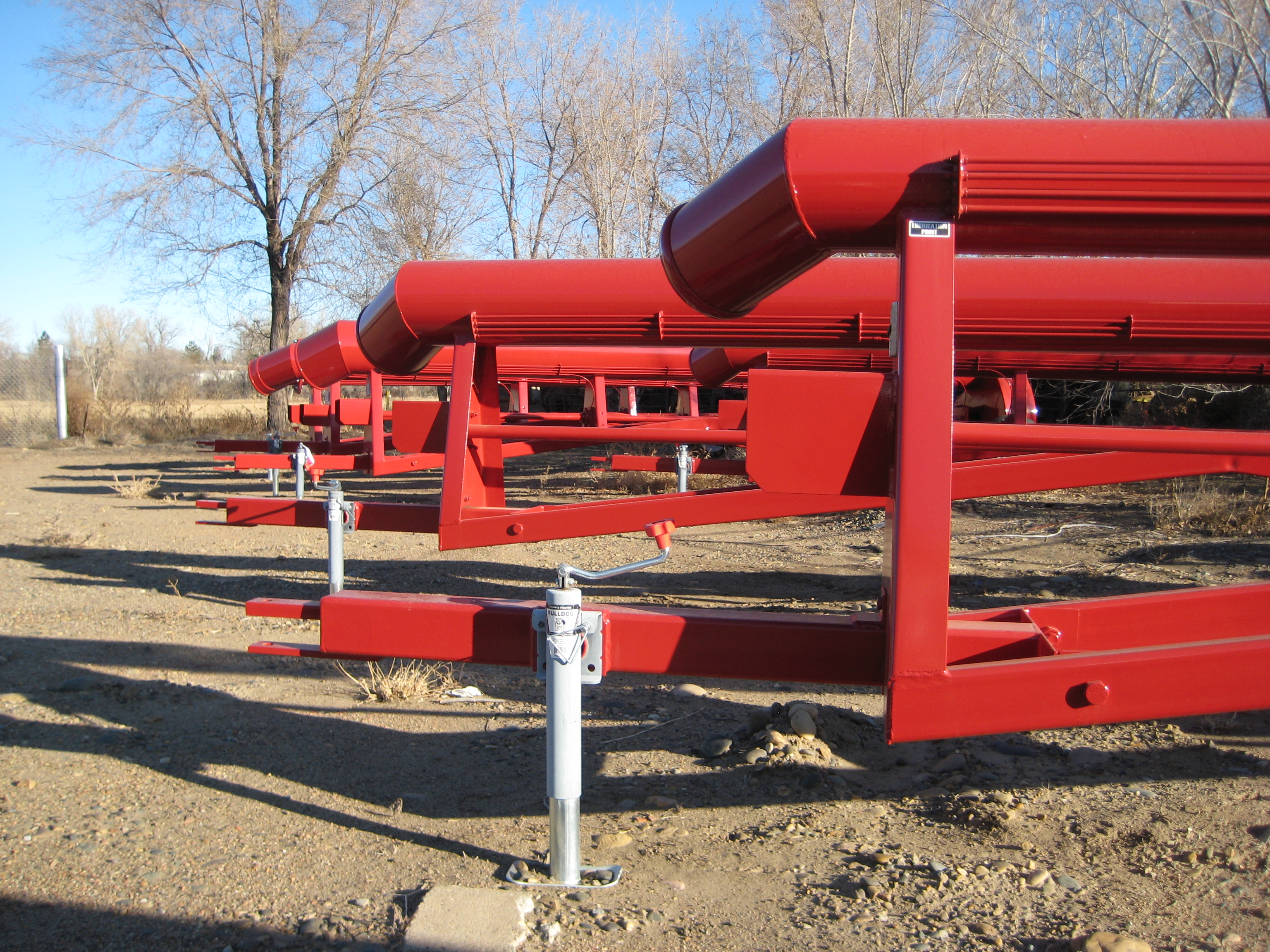 Trailer pumps