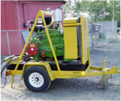Single Axle Diesel Portable Power Unit