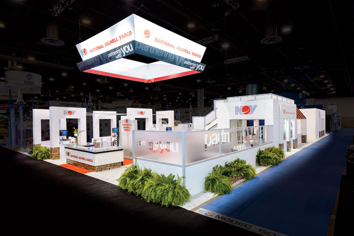 cool trade show booth designs