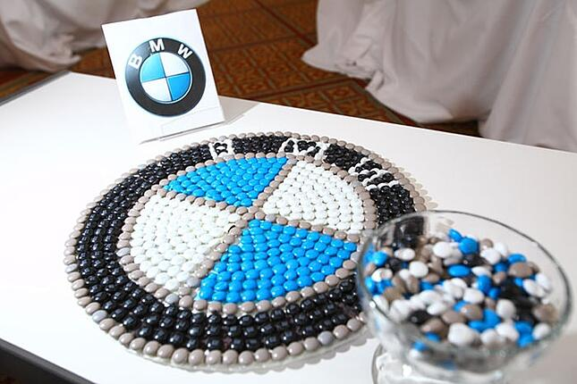 BMW candies in action