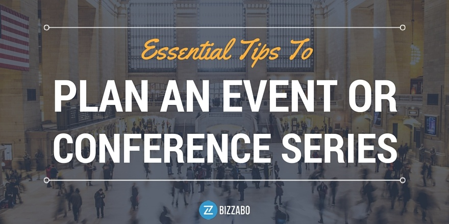 how to plan an event series