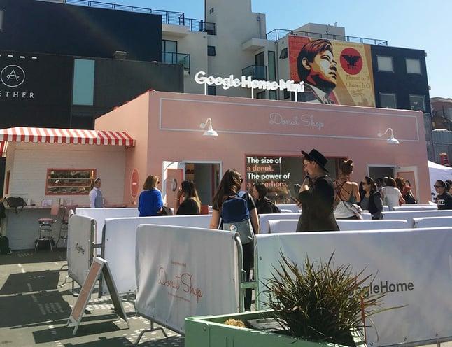 Cupcakes or Google Homes at this pop-up