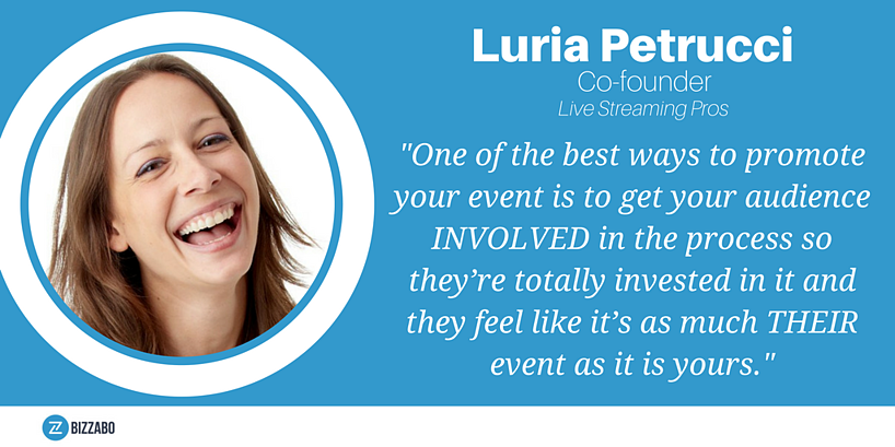 Social Media advice from Luria Petrucci.