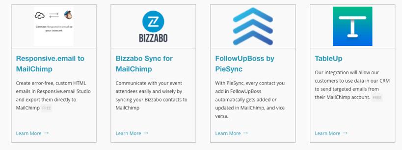Mailchimp Integrations - Event Marketing Guide 2020