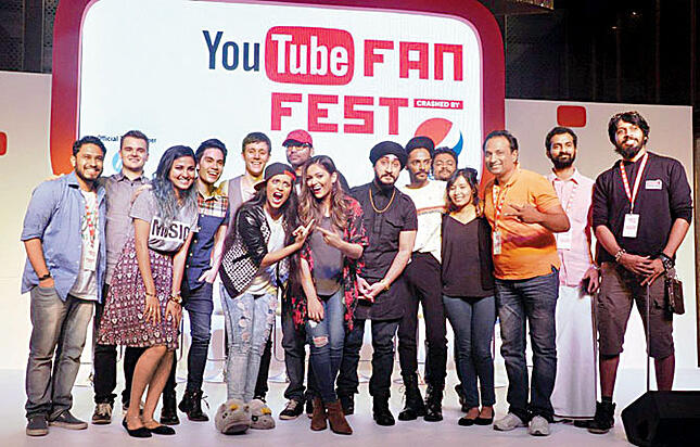 YouTube stars line-up for FanFest