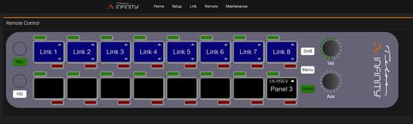Infinity Link Lite Panel