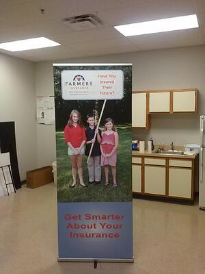 Retractable Banner Stand Cleveland