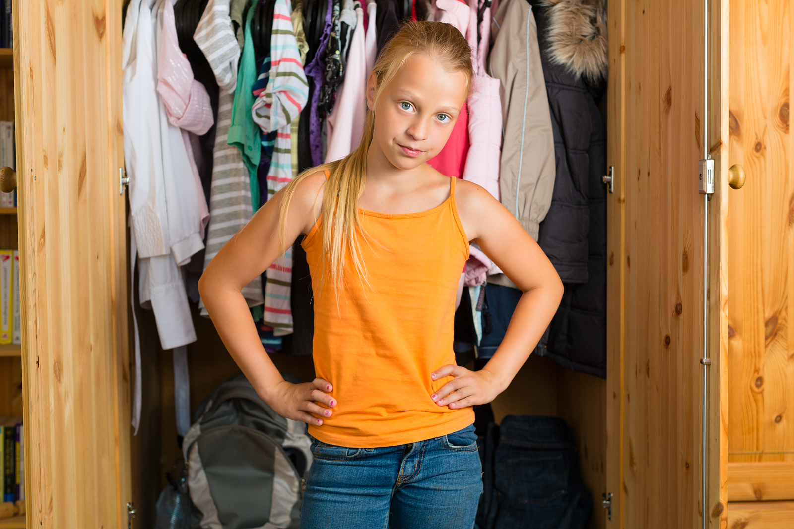 How To Tame Your Teen Daughter S Closet