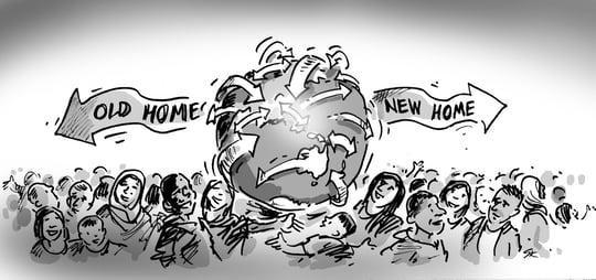 Migration trends Australian Census