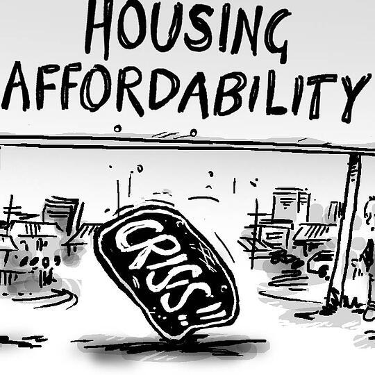What housing affordability crisis