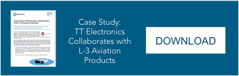 TT Electronics Collaborates with L-3 Aviation Products Case Study