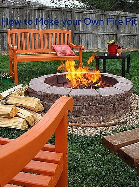 how to make a fire pit in your backyard cook portable warehouses
