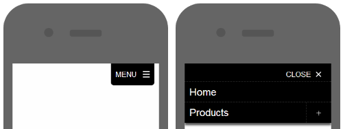 How to implement a mobile navigation menu