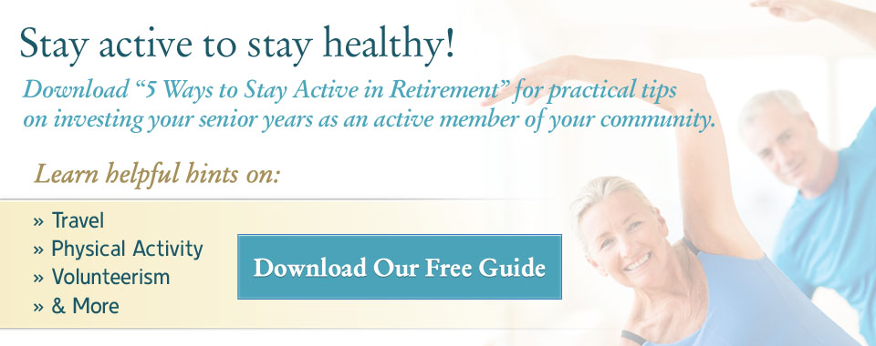 5 Ways To Stay Active in Retirement